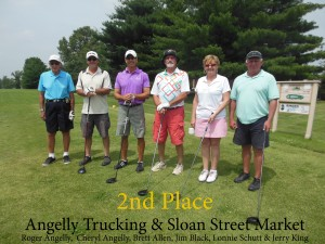 Angelly Trucking & Sloan Street- 2nd Place