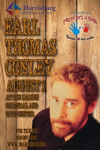 Earl Thomas Conley poster proof