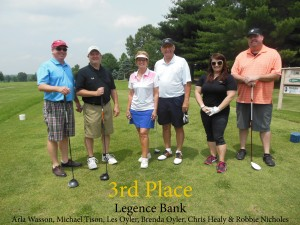 Legence Bank- 3rd Place